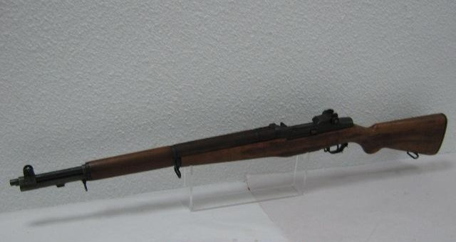 Fusil semi-automatique.